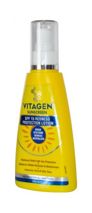 Sunscreen SPF 15 Redness Protection Lotion